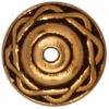 Bead Cap Celtic 8mm Antique Gold